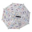 Átlátszó pillangós esernyő