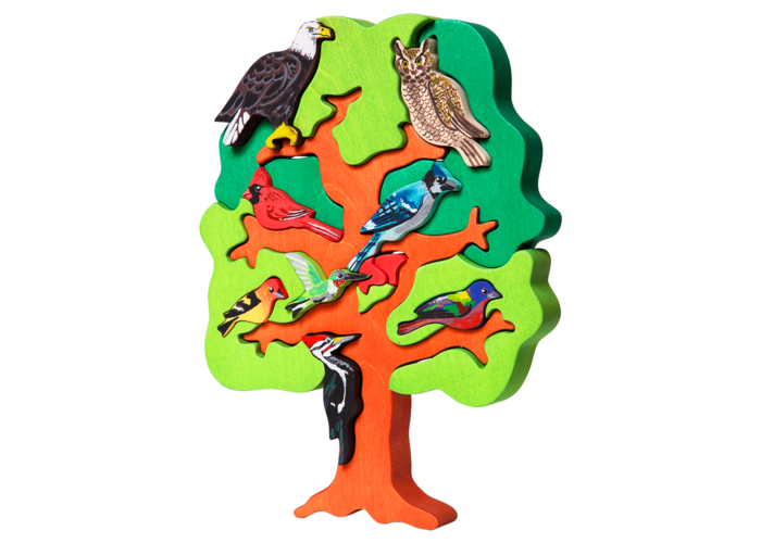 Fajáték - Madarasfa Észak-amerika madarai