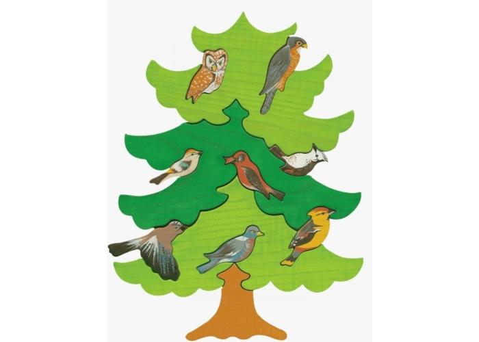 Fajáték - Madarasfa Észak-Európa madarai