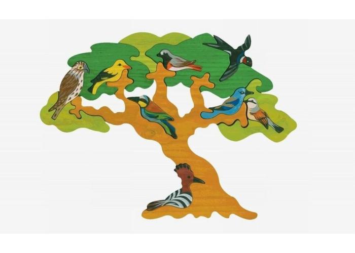 Fajáték - Madarasfa Európa költöző madarai
