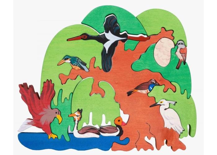 Fajáték - Madarasfa Európa vízparti madarai