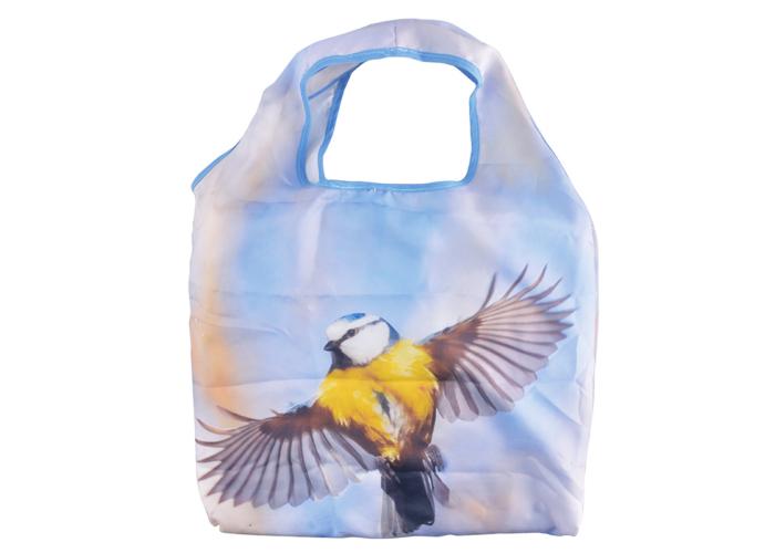 Összehajtható bevásárló táska - cinegés