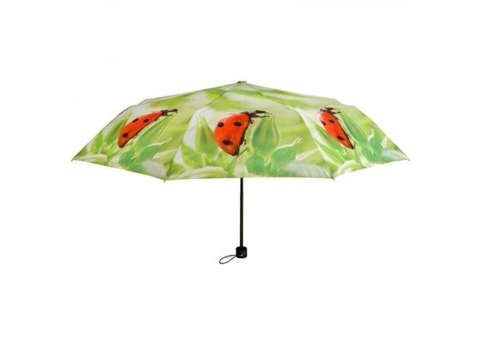 Esernyő-összecsukható, katicás