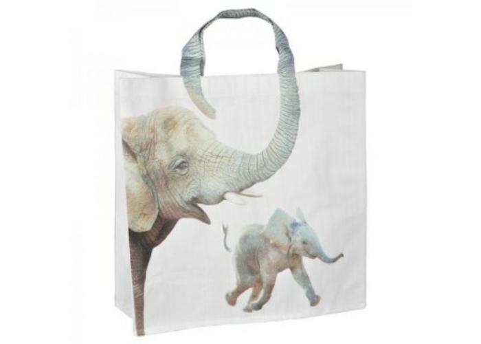 Nagy elefántos bevásárló táska