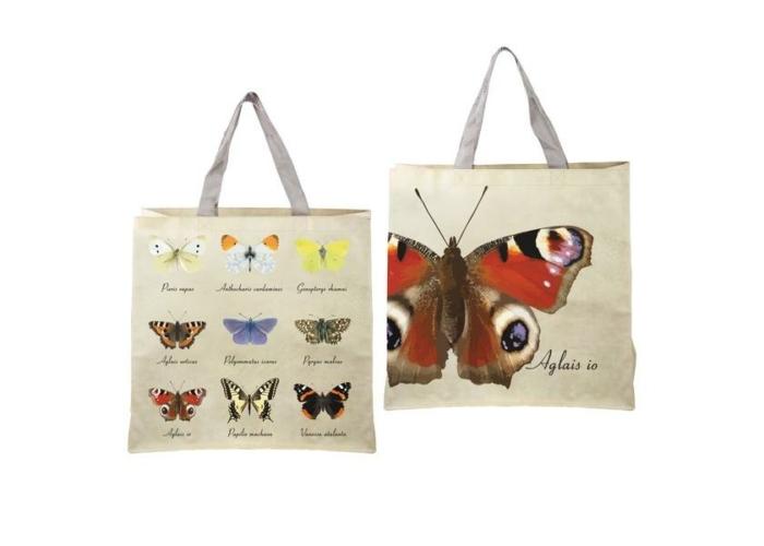 Nagy pillangós bevásárló táska