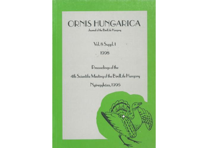 Ornis Hungarica 1998