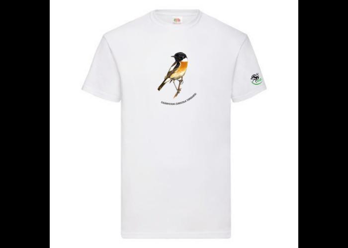 Férfi póló cigánycsuk mintával, fehér, L-es méret